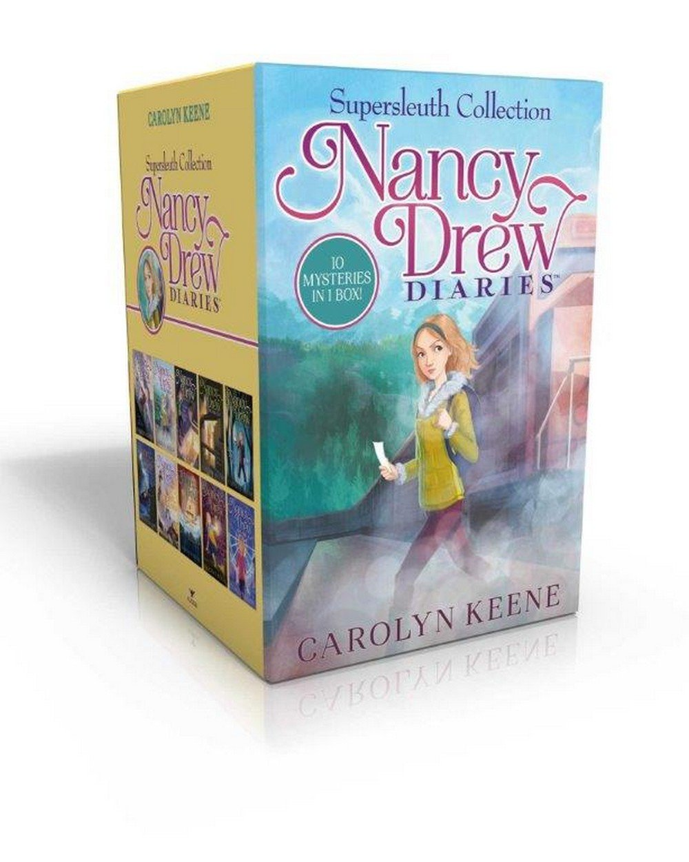 Nancy Drew Diaries Supersleuth Collection  Curse of the Arctic Star ... d3a5ff54fe77f