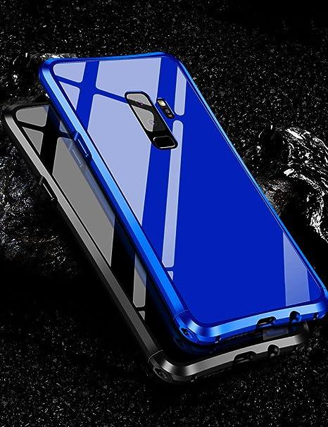 check out 6295d 5b26d Galaxy S9 Plus Case KumWum Metal Aluminum Bumper Case PC Back Cover for  Samsung S9+ (Samsung Galaxy S9 Plus, Black)