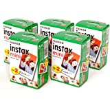 チェキフイルム instax mini インスタックスミニ 2P×5 計100枚セット