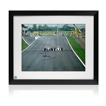 Exclusive Memorabilia Formel-1-Foto von Nigel Mansell signiert