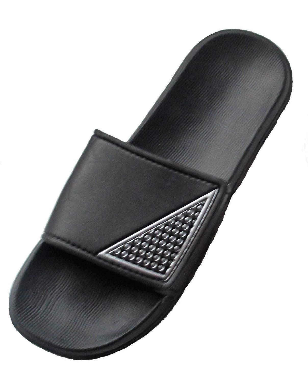 Black & White Sandals, Slides Sz 12/13 Ex-large