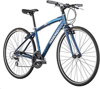 Amazon Com Diamondback Insight 1 Performance Hybrid Bike 700c