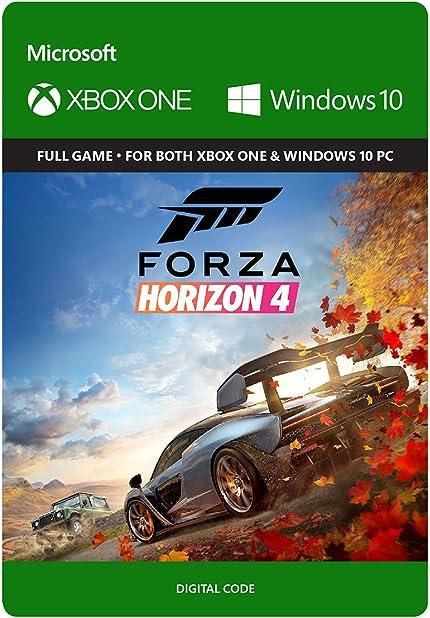 Amazon com: Forza Horizon 4: Standard Edition - Xbox One