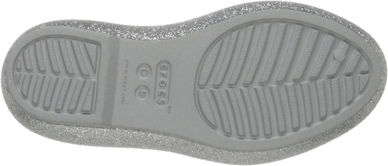Toddler//Little Kid Crocs Eve Sparkle Flat Flat