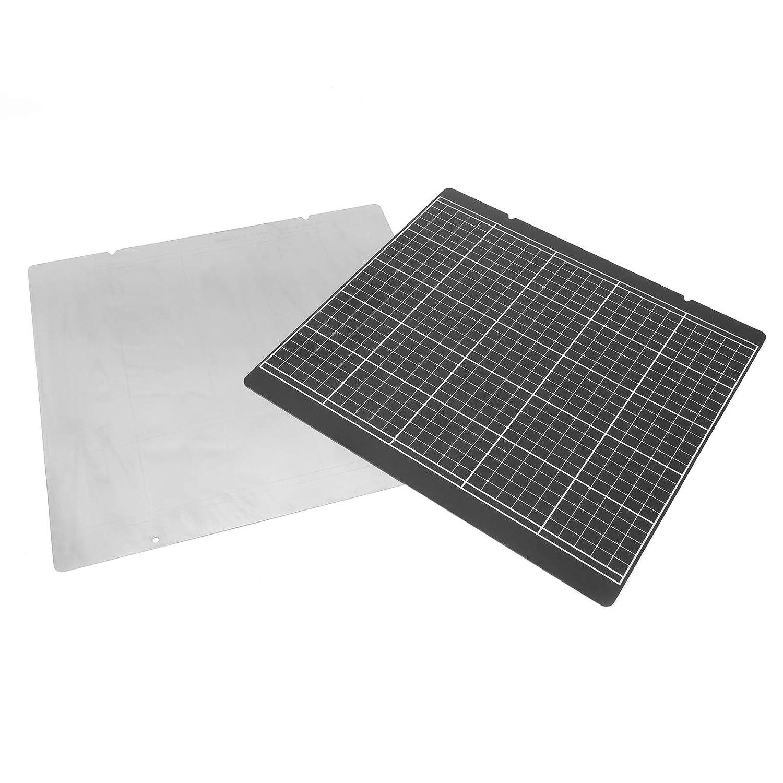 3D 프린터 뜨거운 침대 플랫폼은 3D 프린터 부속품 ECO 친절한 프린터 골드 스티커 뜨거운 침대 스티커 3D 프린터 스티커 블랙 GRID10X9.5 에 대한 PRUSA I3MK52
