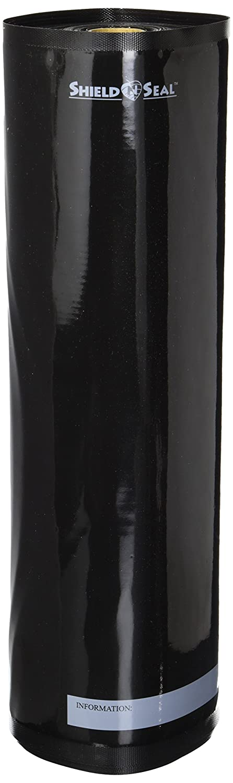 """ShieldNSeal 15"""" x 50' All Black Vacuum Sealer Roll SNS 2300"""