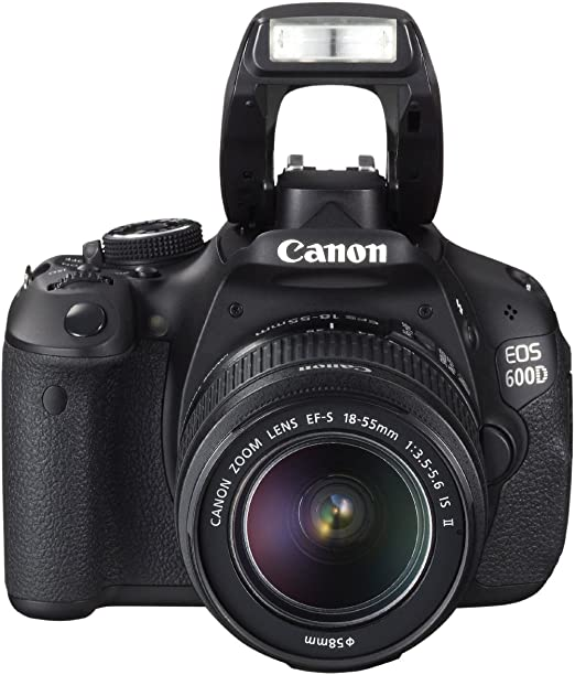 Canon EOS 600D - Cámara Réflex Digital 18.7 MP (Objetivos 18-55 IS ...