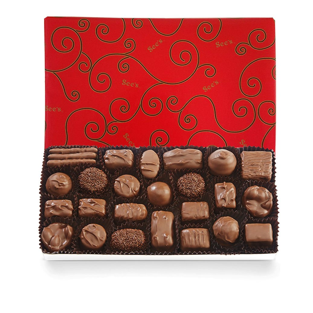 See's Candies Milk Chocolates (1 lb.)