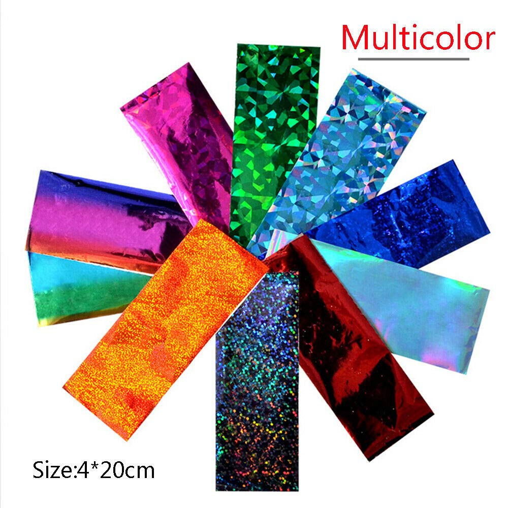 Amazon com ab color transfer 3d holographic decals nail art