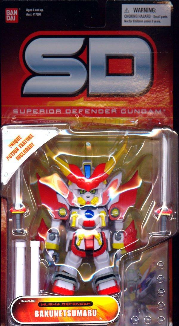 SD Gundam Force Bakunetsumaru Musha Defender by Bandai