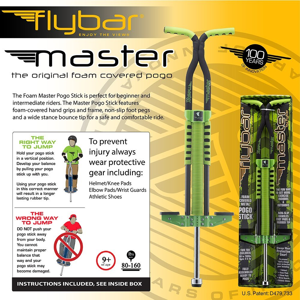 Flybar Master Pogo Stick- Green ... by Flybar (Image #3)