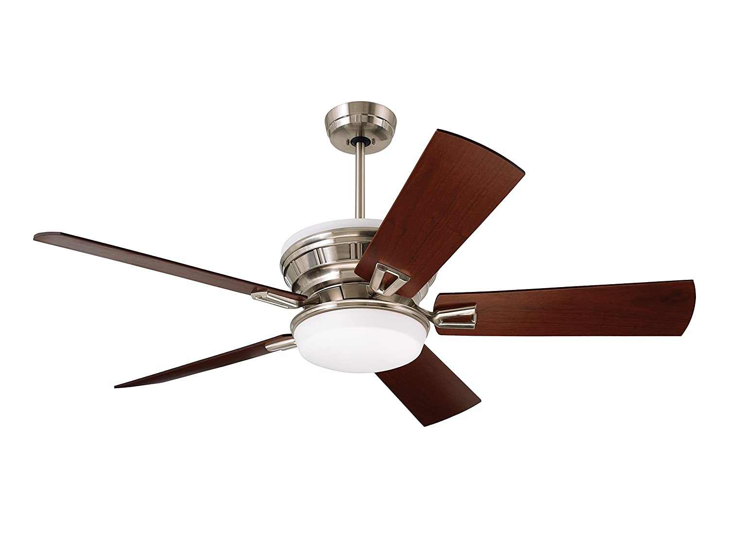 Emerson ceiling fans cf965bs portland eco ceiling fan with light emerson ceiling fans cf965bs portland eco ceiling fan with light wall control and 54 inch blades brushed steel finish amazon mozeypictures Image collections