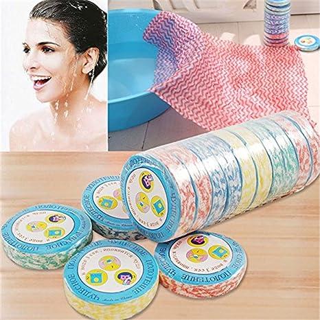 10pcs Mini portátil de mágica toalla toallas de mano, Towels/manopla & manoplas