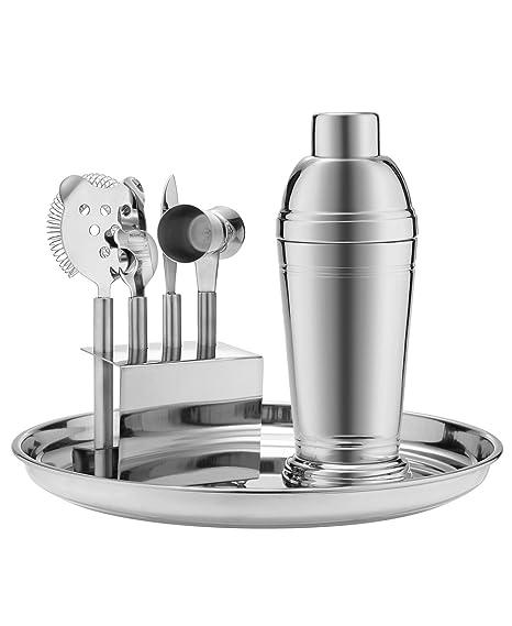 Stainless 7 Piece Barware Set