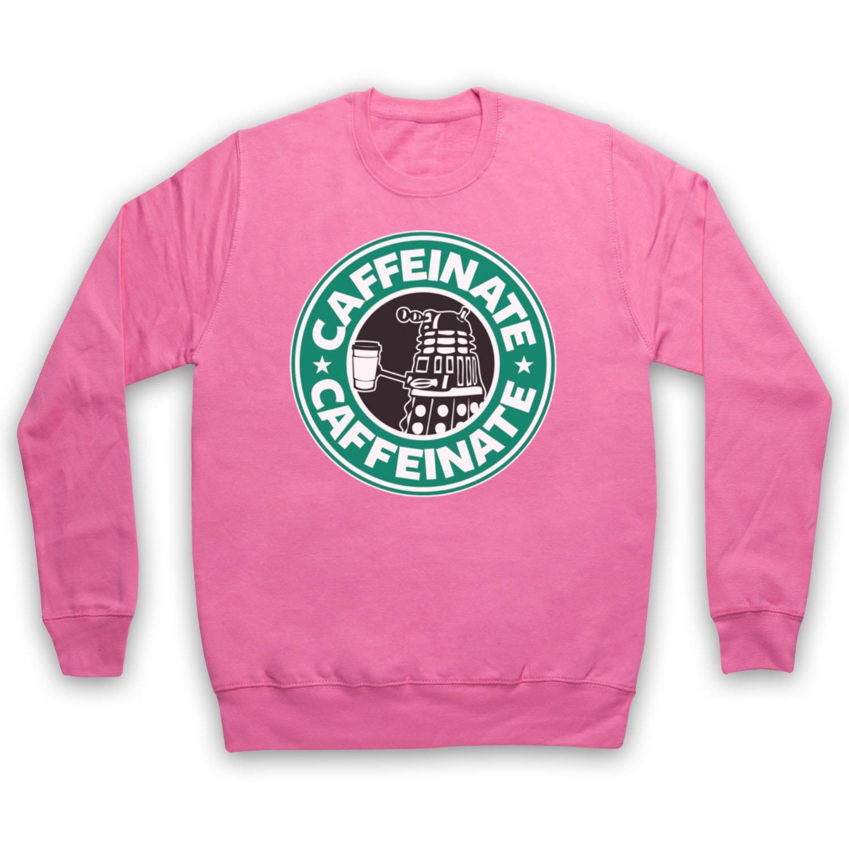 Dr Who Dalek Parody Caffeinate Adults Sweatshirt