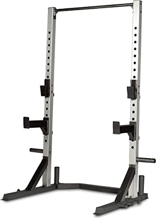 side facing cap barbell fm-8000f deluxe power rack