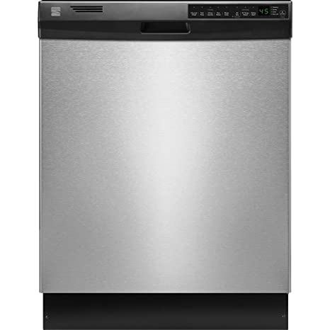 amazon com kenmore 12333 24 built in w ss interior ada qualified rh amazon com Kenmore Model 665 Dishwasher Manual kenmore dishwasher 13543 installation guide