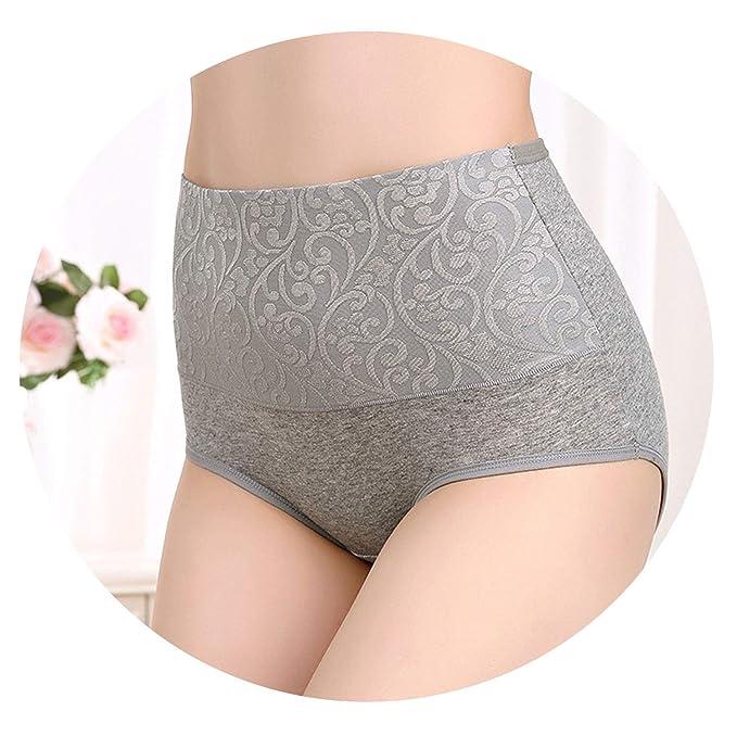 c816c7e58b3 New Panties Women Underwear High Waist Cotton Briefs Plus Calcinhas Sexy  Underwear Short Panties,Grey
