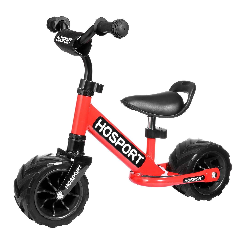 HOSPORT Bicicleta sin Pedales Bicicleta de Equilibrio para Niños de 18 Meses a 3.5 años (Blue)