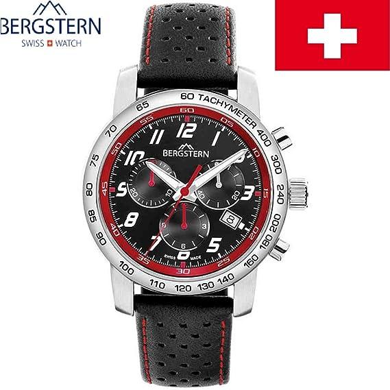 """Reloj de los hombres COLLECIÓN BERGSTERN ACTIVO B020G103 whatch SWISS MADE alta calidad """","""