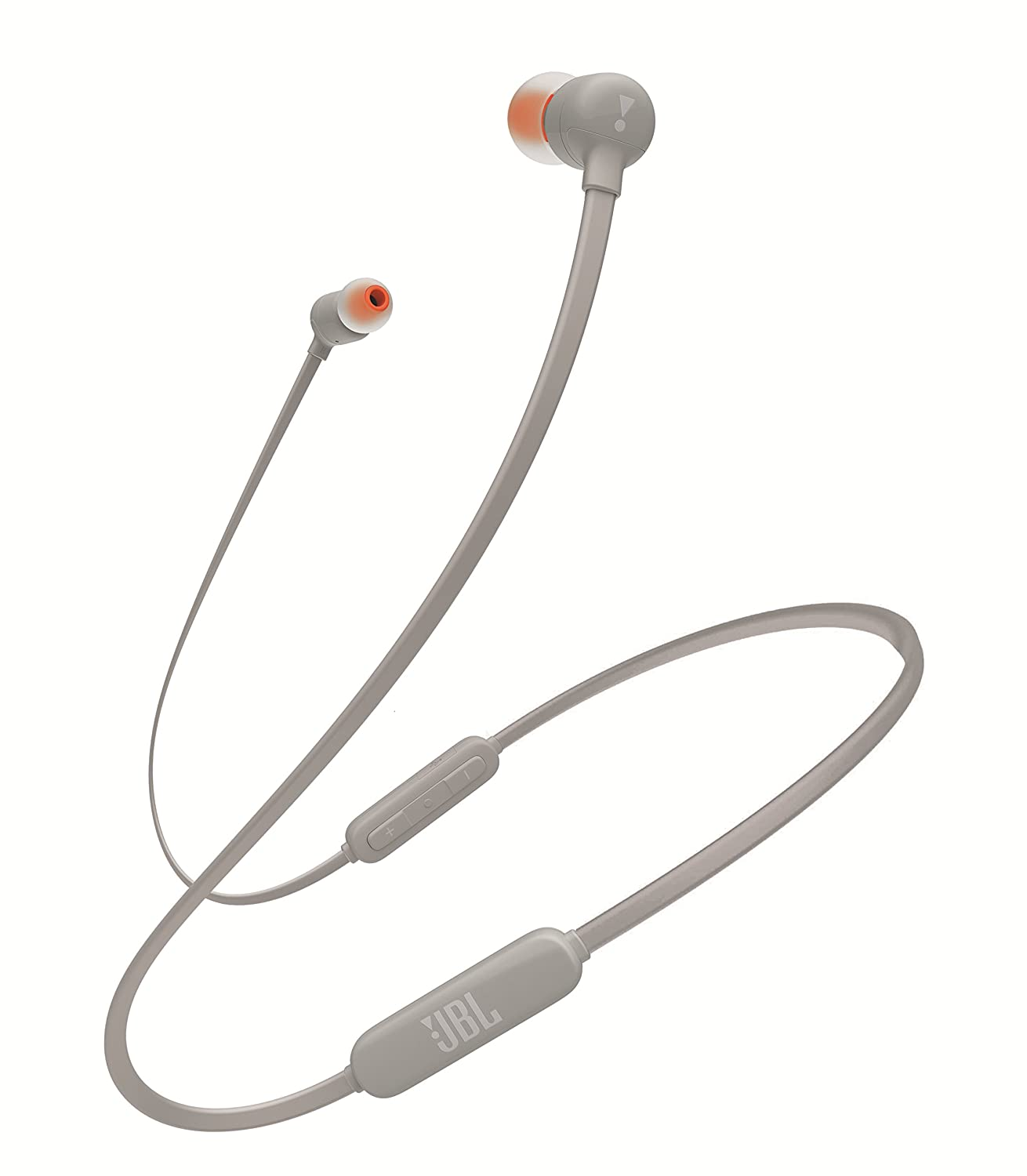JBL Sealed Dynamic Type Bluetooth Wireless Canal Earphone T110BT-GRY (Gray)【Japan Domestic Genuine Products】 JBLT110BTGRYJN