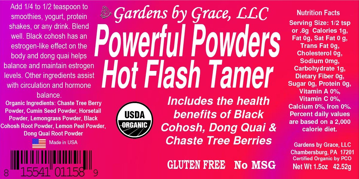 Hot Flashes Menopause Relief Natural Remedy | Night Sweats, Weight Loss,  Mood Swing Blend