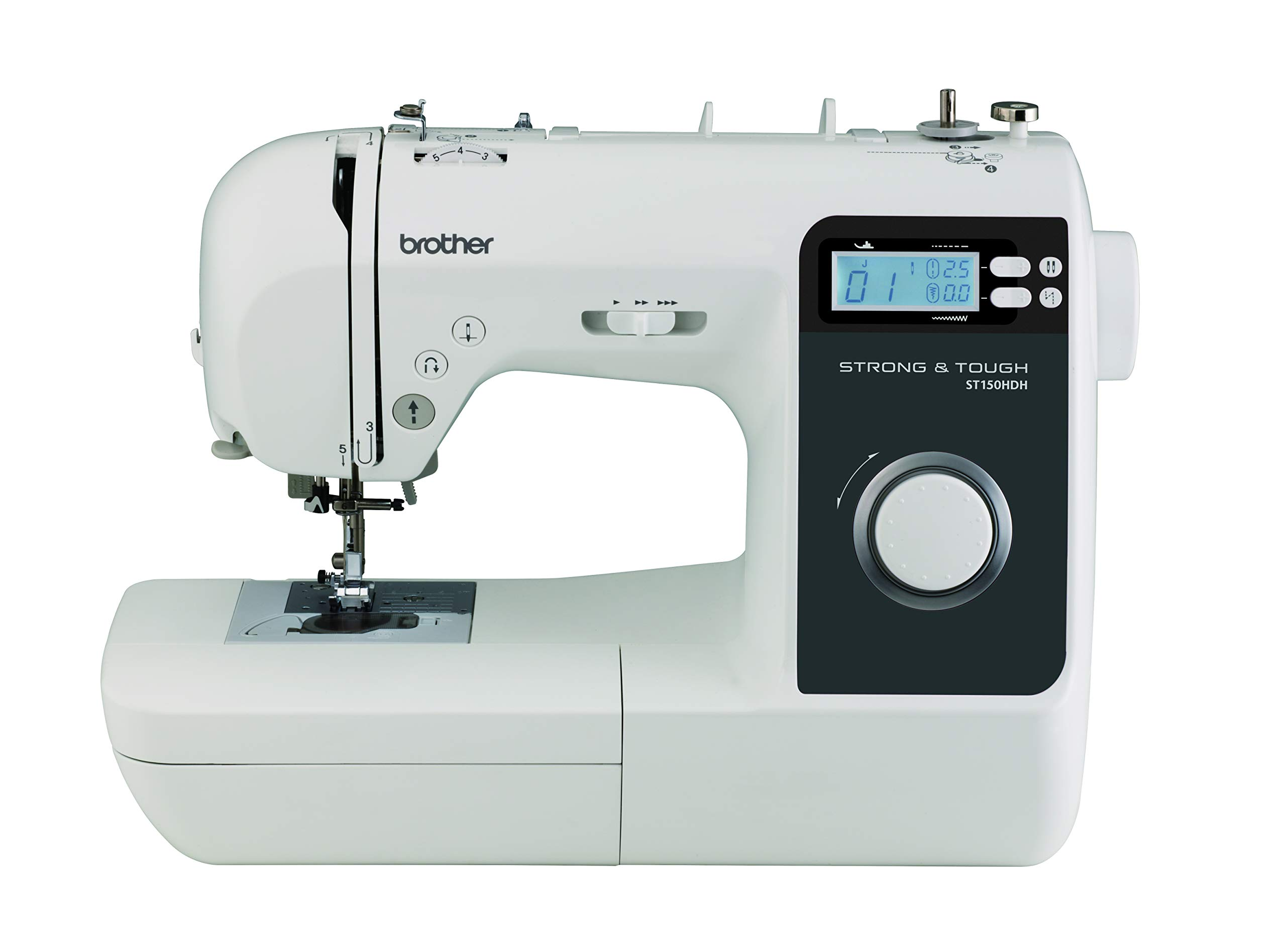 Brother ST150HDH Strong and Tough Computerized Sewing Machine, White by Brother