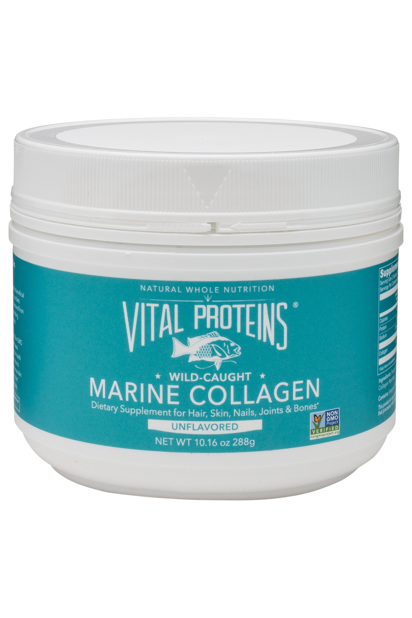 Vital Proteins Marine Collagen, Wild-Caught, Non-GMO Project Verified, 10 Ounces