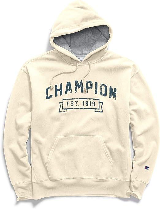 TALLA M. Champion Mens Heritage Fleece Pullover Hood (S1231 549520)