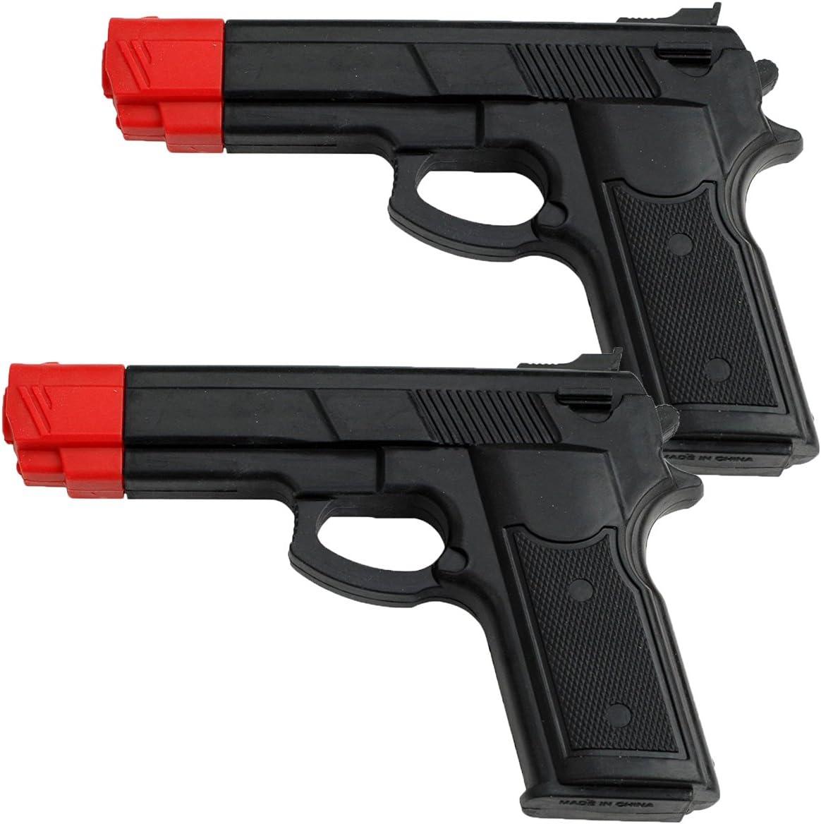 BladesUSA Rubber Training Gun Black//Red