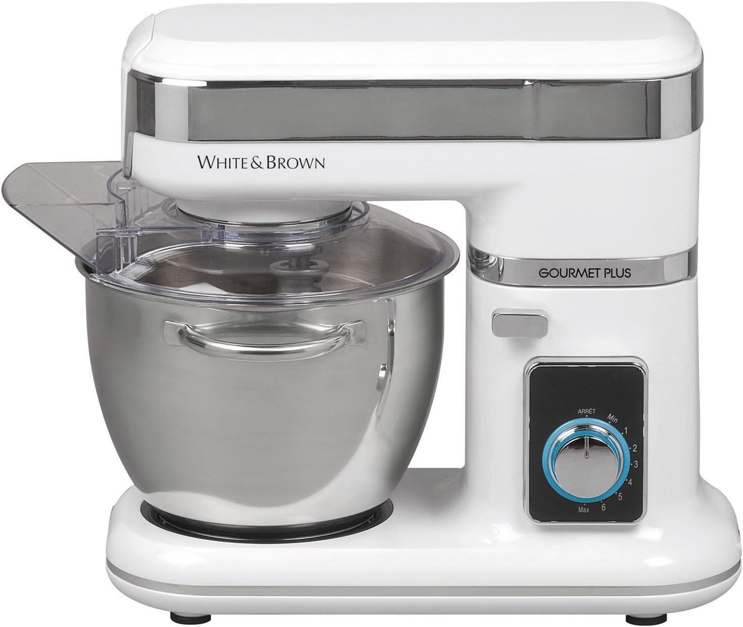 White And Brown R 2211 Gourmet Plus - Robot de cocina multifunción: Amazon.es: Hogar