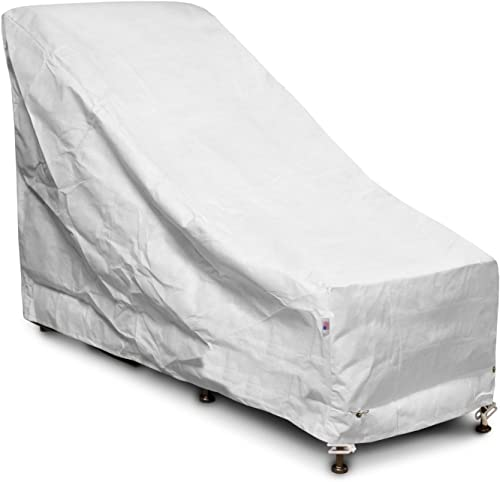 KoverRoos DuPont Tyvek 22650 Chair and Ottoman Cover, 28-Inch Width by 54-Inch Diameter by 39-Inch Height, White