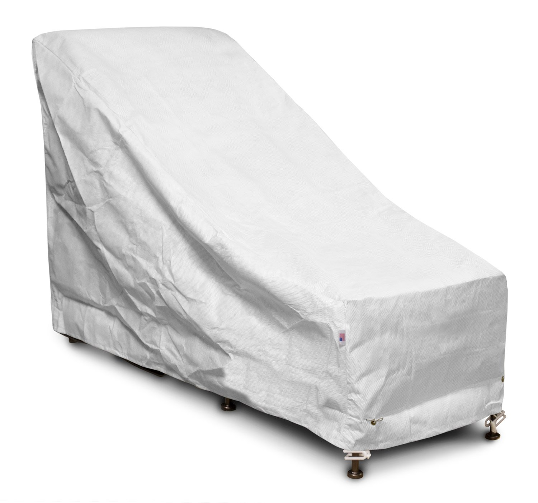 KoverRoos 52650 SupraRoos Chair & Ottoman Cover, White - 28 W x 54 D x 39 H in. B0071IWT4E