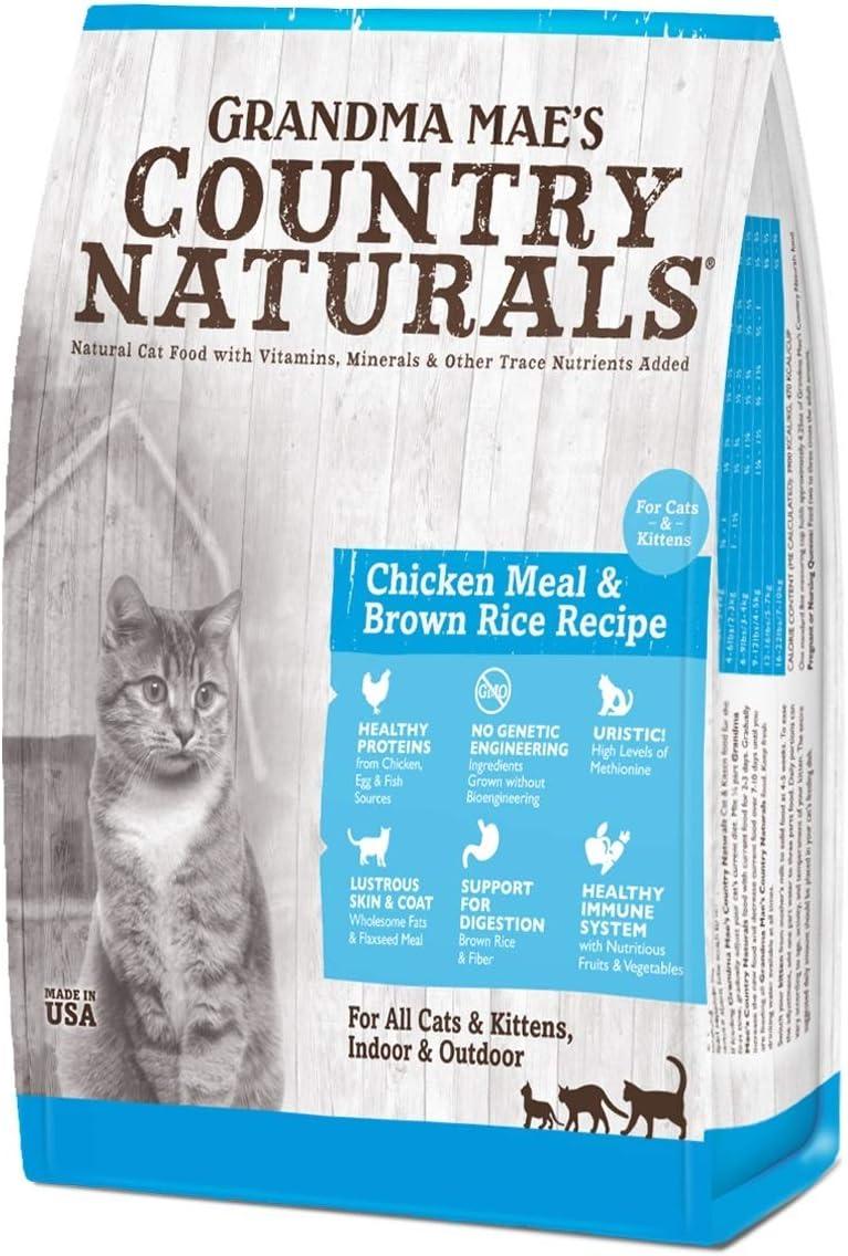 Grandma Mae s Country Naturals Cat Kitten Food 3 lbs