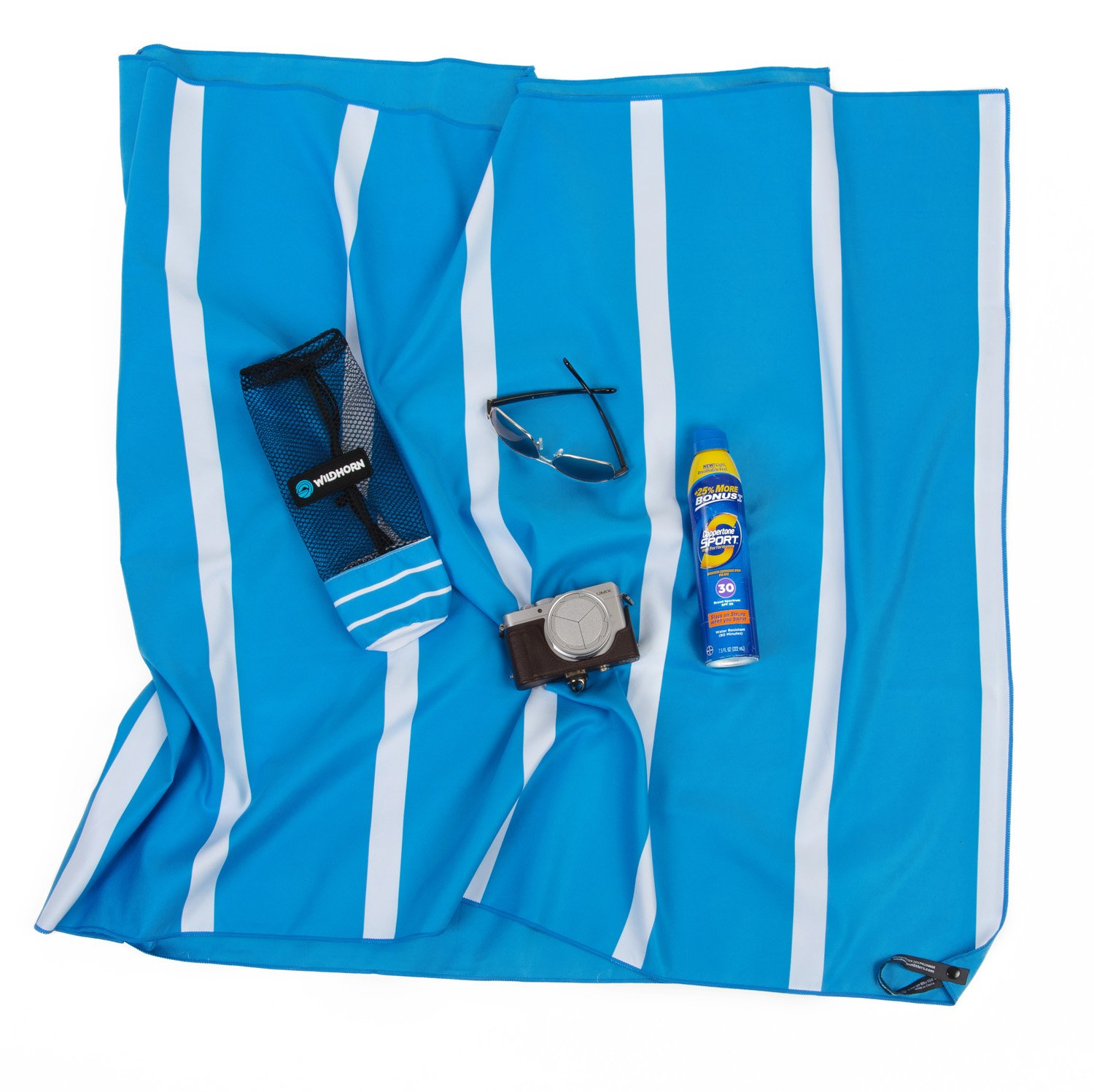 Great for beach trips 78 in. x35 in. pool Akumal Microfiber Beach Towel and camping Quick dry travel towel ultra compact Travels better than cotton beach towels WildHorn Outfitters extra absorbent and XL size