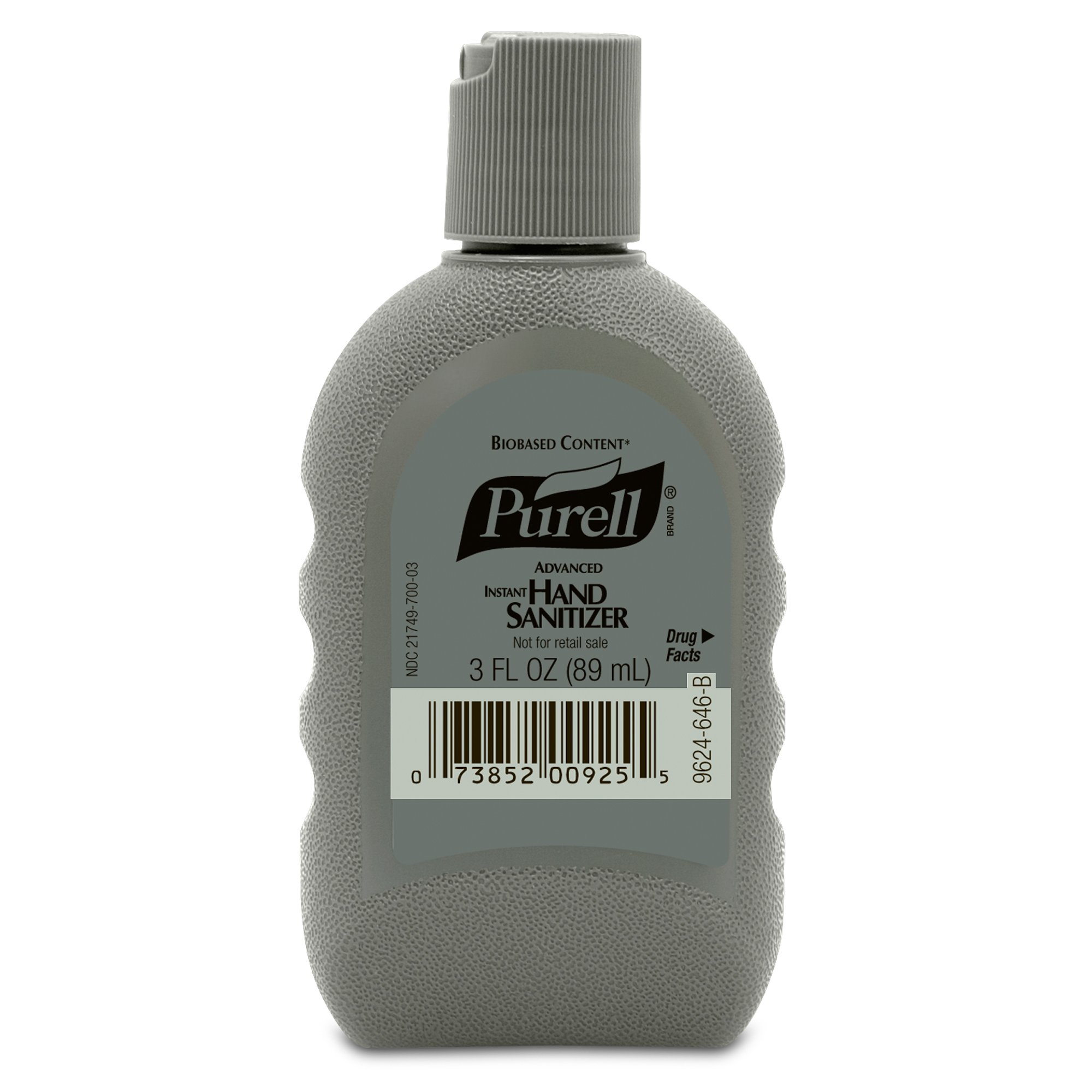 PURELL 9624-24 Instant Hand Sanitizer, 3 oz FST Military Bottle (Case of 24)