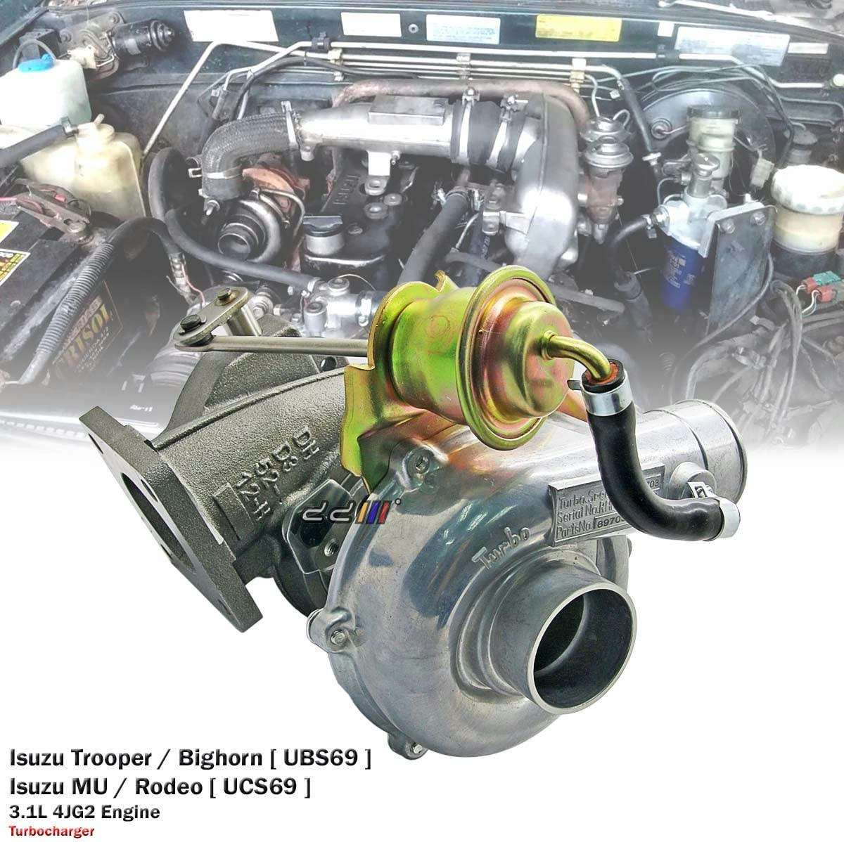 isuzu bighorn 4jg2 wiring diagram amazon com turbo turbocharger fits for holden rodeo trooper 3 1l  amazon com turbo turbocharger fits for