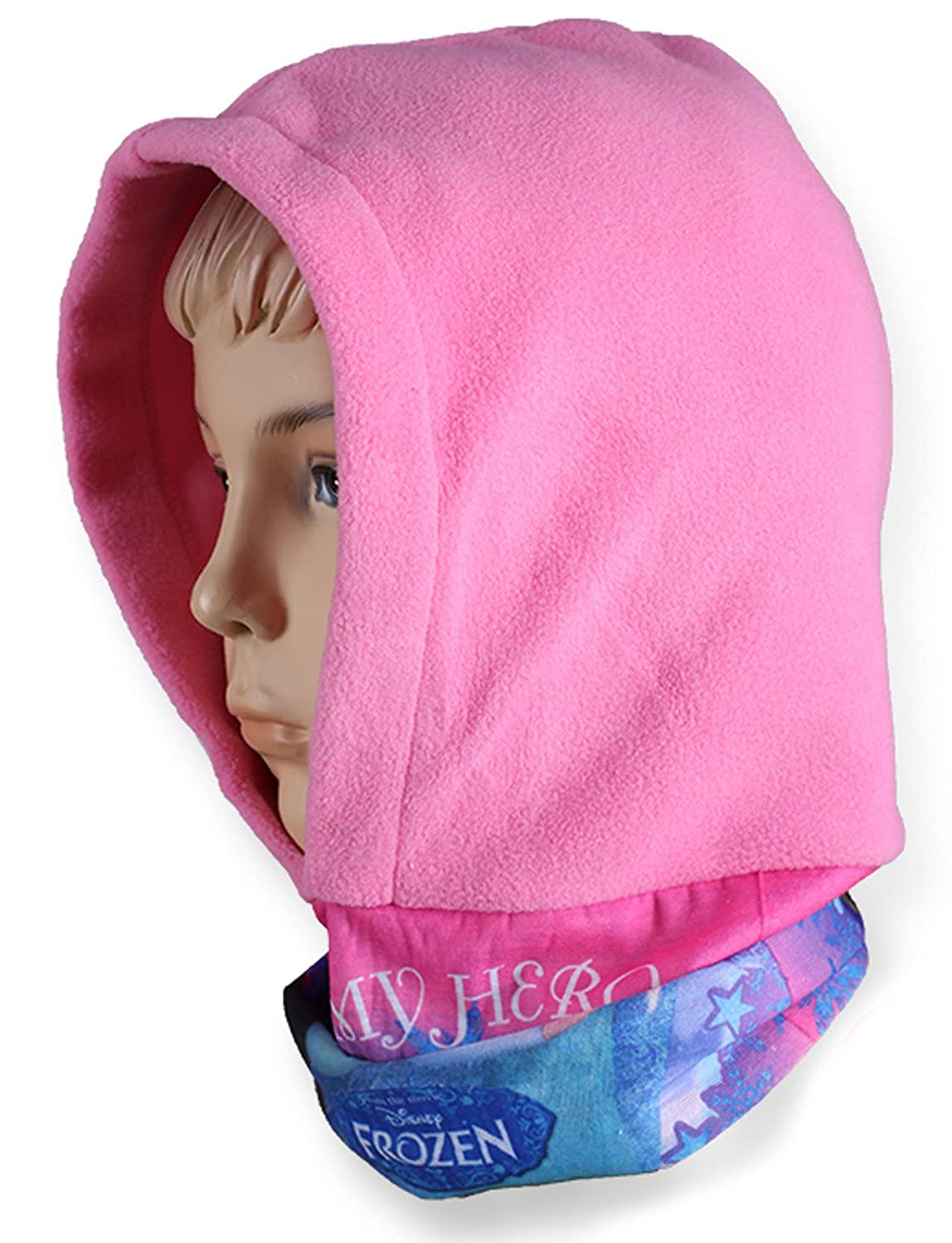 Girls Official Disney Frozen Sisters Anna Elsa Snood Hood sizes from 3 to 8 Years-770-957