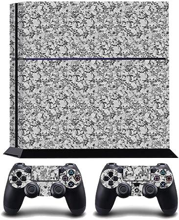 Grey Marble Print PS4 PlayStation 4 Vinyl Wrap / Skin / Cover / Pegatina para Sony PlayStation 4 Console y PS4 Controllers: Amazon.es: Hogar