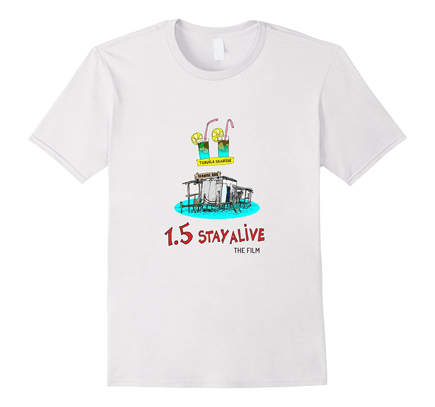 1.5 Stay Alive - Sea Level Rise in the Caribbean Tshirt-Rose