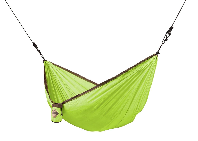 LA SIESTA Colibri – Parachute Silk Single Travel Hammock with Integrated Suspension