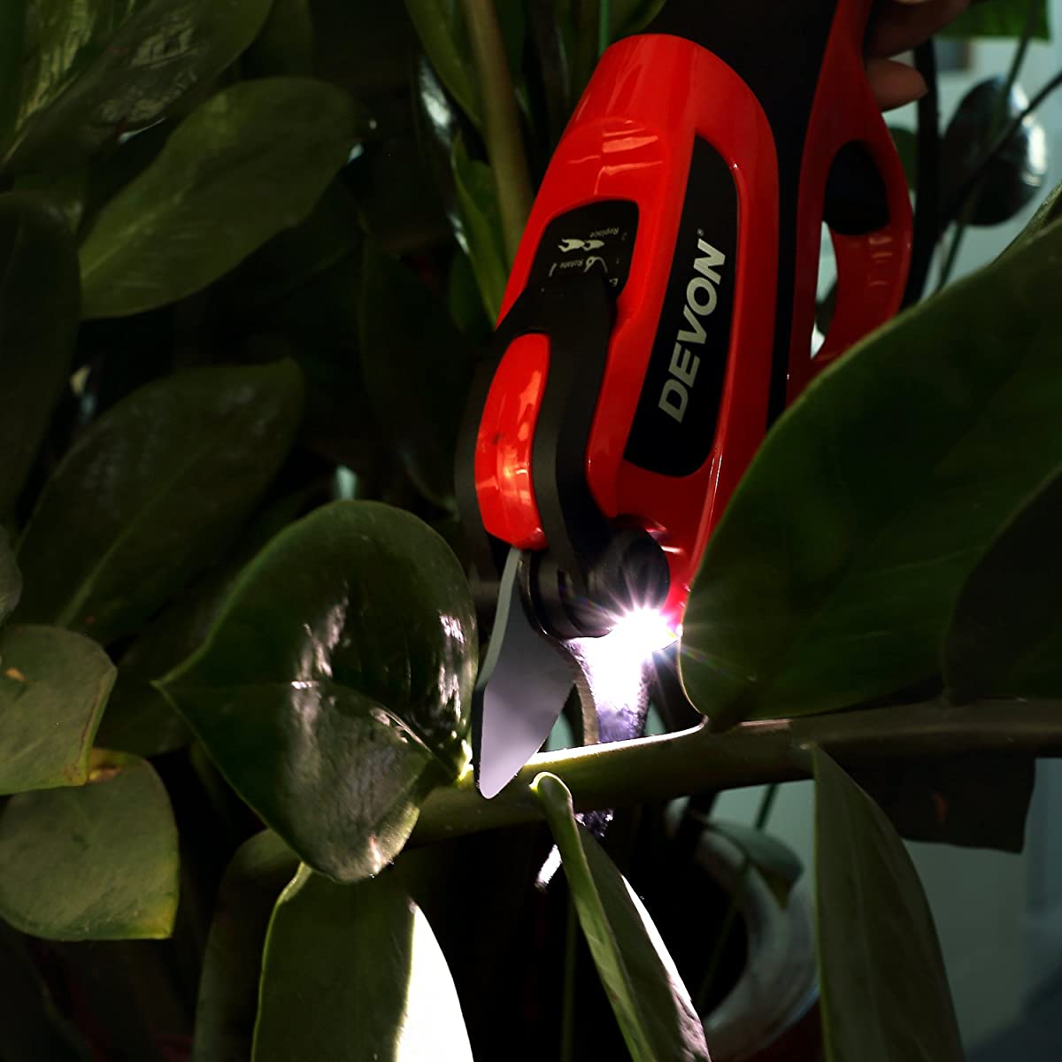 Electric Pruning Shears, Rechargeable Battery ,Cordless Professional Tree Trimmers Secateurs Cutting Scissors,One More Replacement Strong Blade for Garden, Rose, Apple Fruit Tree,Branches