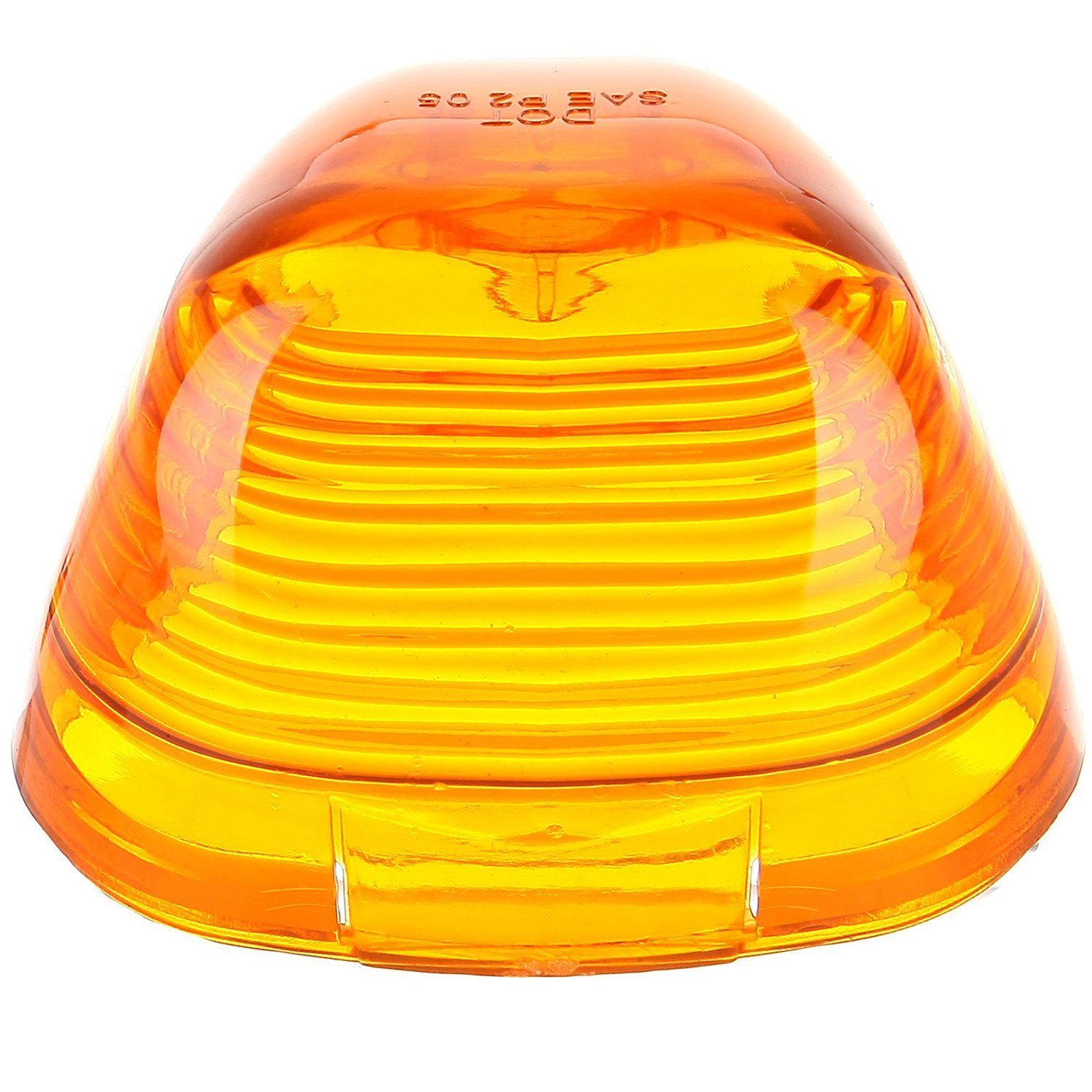 Clear 5 Pcs Cab Triangle Roof Marker Clearance Lights Lens Covers For 1999-2016 Ford Super Duty