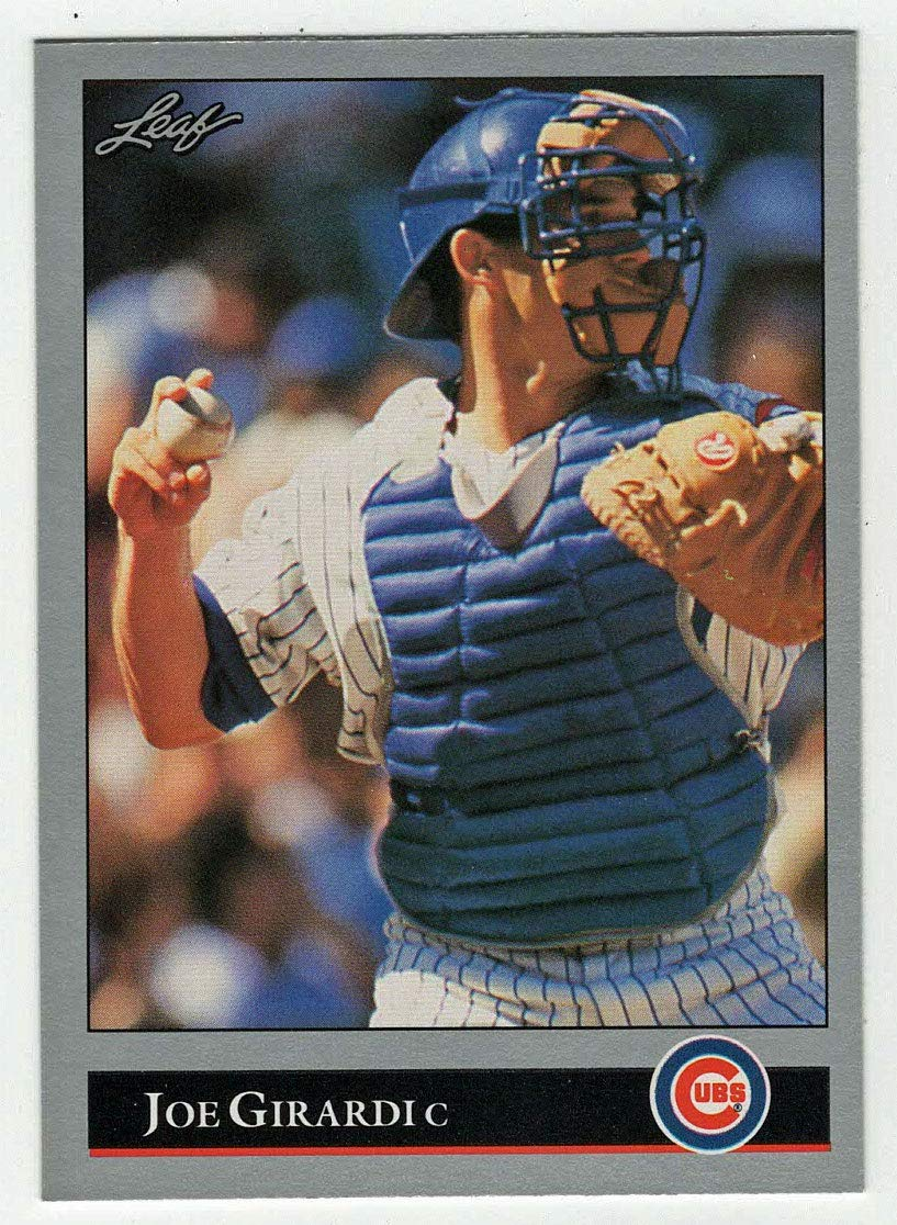 Amazoncom Joe Girardi Baseball Card 1992 Leaf 72 Nm