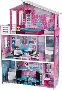 KidKraft Wooden Breanna Dollhouse for 18
