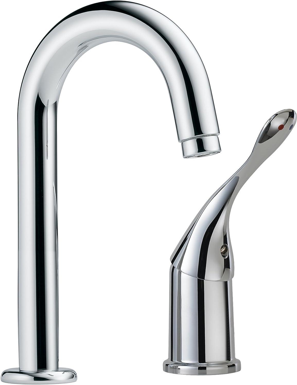 Delta Commercial 711LF-HDF Single Handle Bar/Prep Faucet, Chrome ...