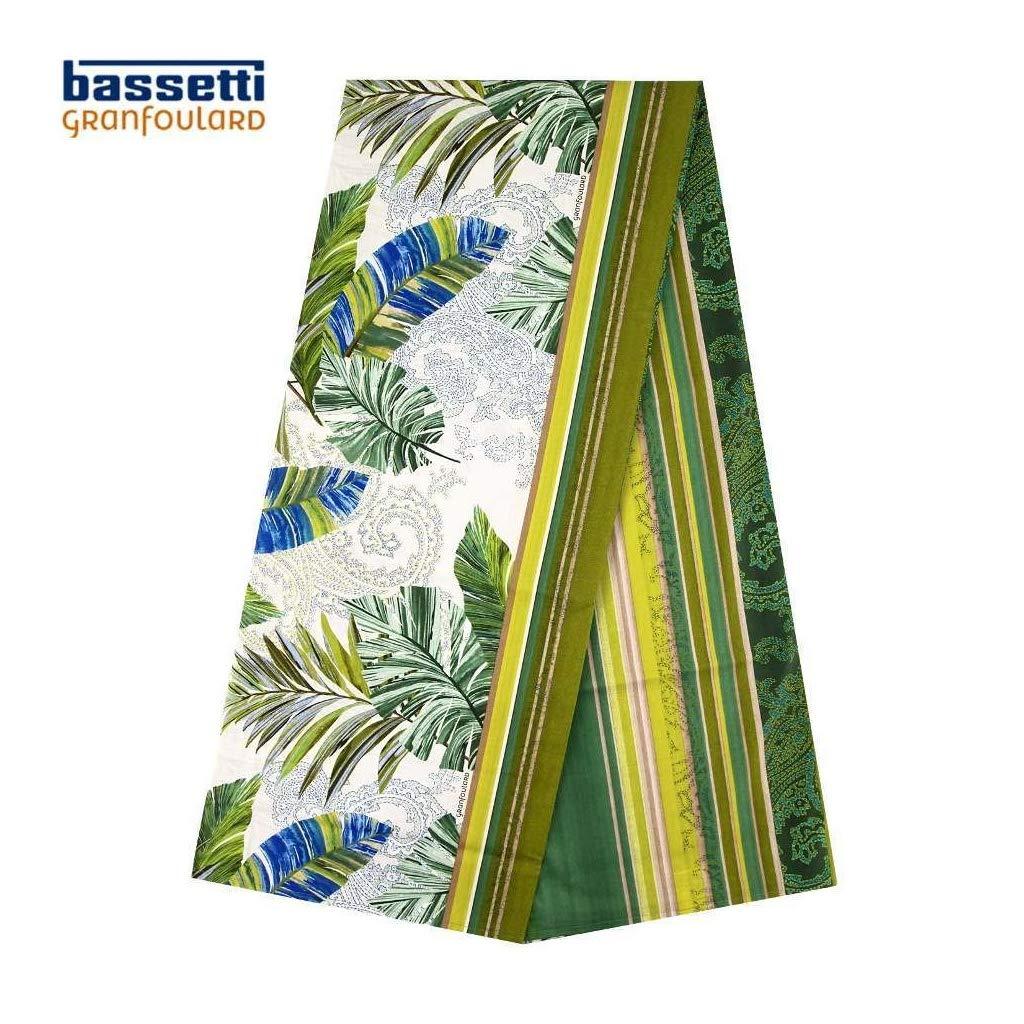 Gr/ün V2 Bassetti Levante funzionalit/à Foulard 180x270 100/% cotone