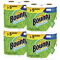 8-Pack Bounty Quick-Size Paper Towels Family Roll (20 Regular Rolls)