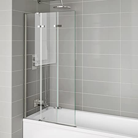 800mm Luxury Folding Bath Shower Glass Screen Pivot Door Panel ...