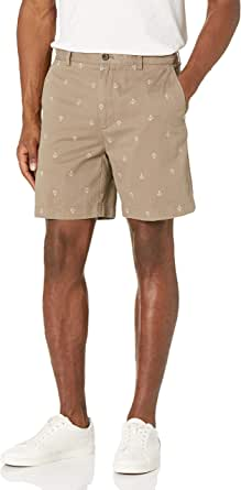 """Amazon Essentials Classic-fit 7"""" Print Short - Pantalones Cortos Hombre"""